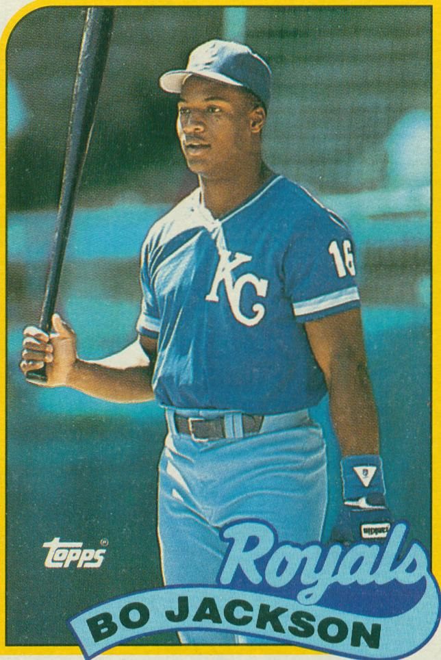 Royals Top All Star Performers Bo Jackson 1989