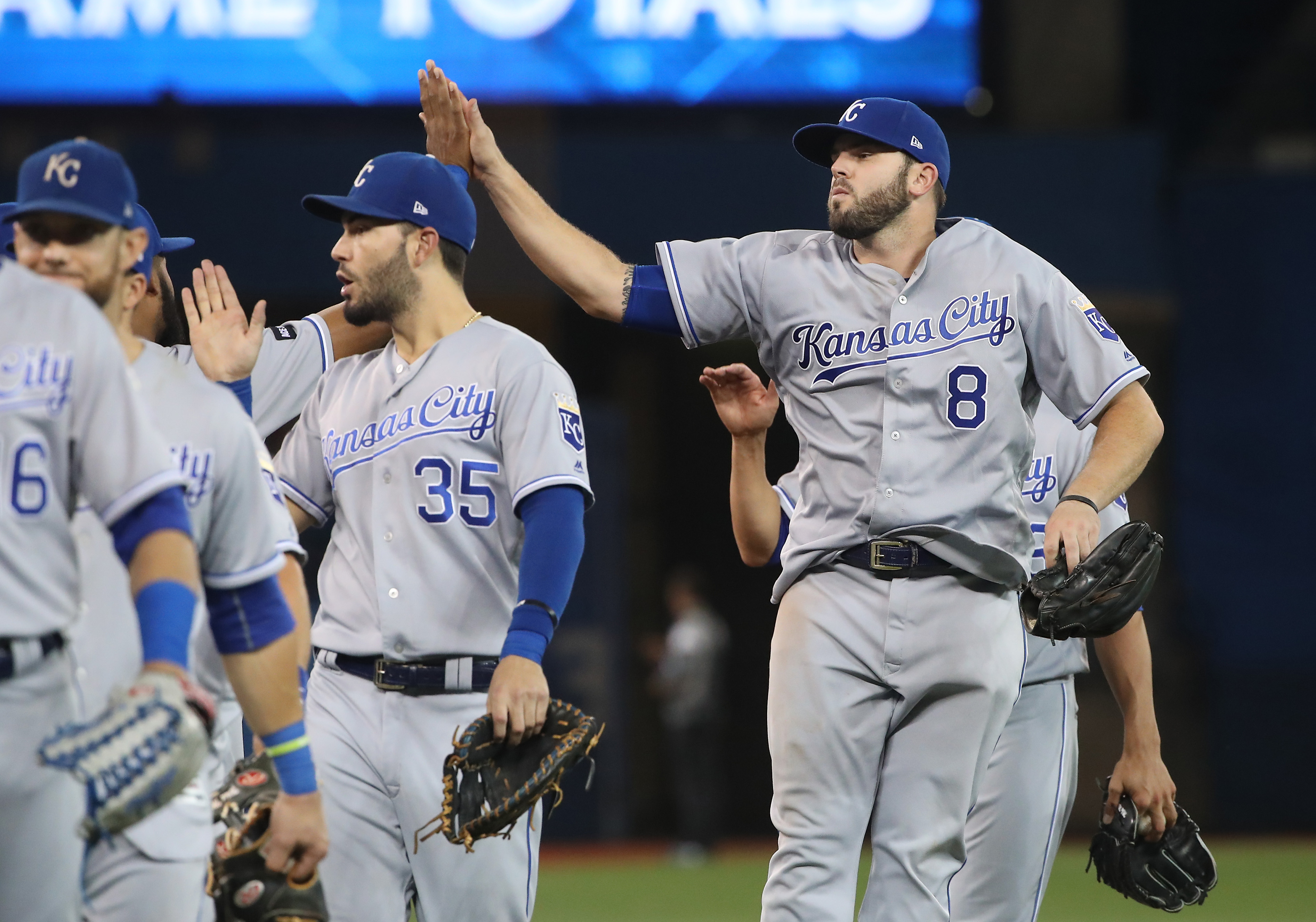 Moustakas named Comeback Player of the Year, Royals manager injured